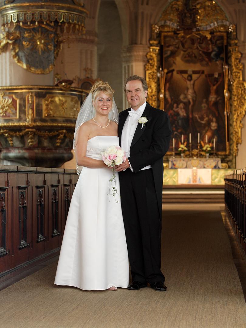 Brudpar i St. Tuna kyrka